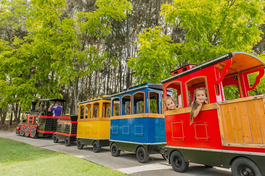 Kids club mini train hunter valley